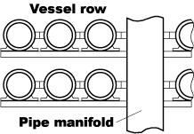 reverse osmosis membranes array