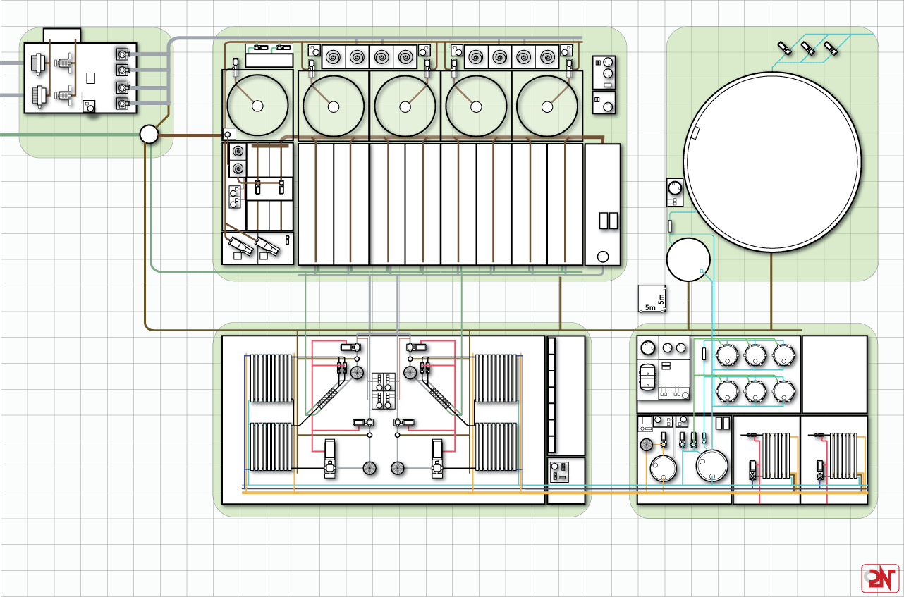 S1800 Project 85000 M3 Day Piping Layout Requirements Image The Plant Provides Minimum Length Of Interconnecting Clearly Defines Areas And Meets Work Safety Om